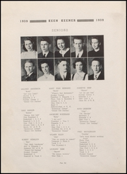 Page 8, 1939 Edition, Demotte High School - Keen Keener Yearbook (Demotte, IN) online yearbook collection