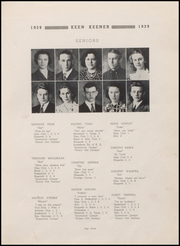 Page 9, 1939 Edition, Demotte High School - Keen Keener Yearbook (Demotte, IN) online yearbook collection