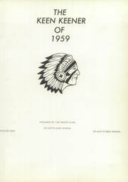 Page 5, 1959 Edition, Demotte High School - Keen Keener Yearbook (Demotte, IN) online yearbook collection