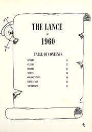 Page 5, 1960 Edition, Ligonier High School - Lance Yearbook (Ligonier, IN) online yearbook collection
