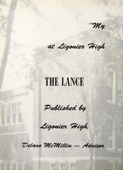 Page 6, 1960 Edition, Ligonier High School - Lance Yearbook (Ligonier, IN) online yearbook collection