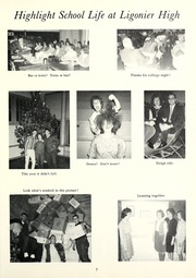 Page 11, 1964 Edition, Ligonier High School - Lance Yearbook (Ligonier, IN) online yearbook collection