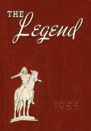1955 Edition, Indian Hill High School - Legend Yearbook (Cincinnati, OH)