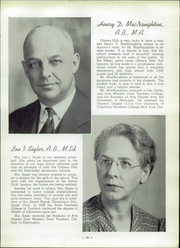Page 17, 1940 Edition, Ottawa Hills High School - Legend Yearbook (Grand Rapids, MI) online yearbook collection