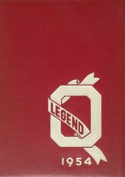 Ottawa Hills High School - Legend Yearbook (Grand Rapids, MI) online yearbook collection, 1954 Edition, Page 1