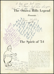 Page 5, 1954 Edition, Ottawa Hills High School - Legend Yearbook (Grand Rapids, MI) online yearbook collection