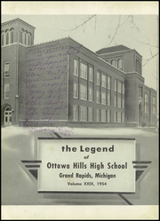 Page 7, 1954 Edition, Ottawa Hills High School - Legend Yearbook (Grand Rapids, MI) online yearbook collection