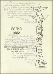 Page 5, 1960 Edition, Ottawa Hills High School - Legend Yearbook (Grand Rapids, MI) online yearbook collection