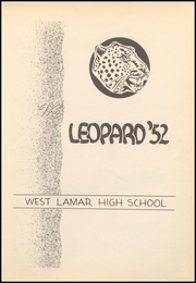 Page 7, 1952 Edition, West Lamar High School - Leopard Yearbook (Lamar County, TX) online yearbook collection