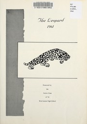 Page 5, 1961 Edition, West Lamar High School - Leopard Yearbook (Lamar County, TX) online yearbook collection