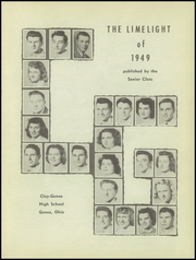Page 5, 1949 Edition, Genoa Area High School - Limelight Yearbook (Genoa, OH) online yearbook collection