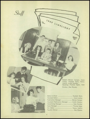 Page 6, 1949 Edition, Genoa Area High School - Limelight Yearbook (Genoa, OH) online yearbook collection
