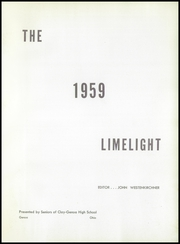 Page 5, 1959 Edition, Genoa Area High School - Limelight Yearbook (Genoa, OH) online yearbook collection