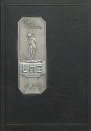 Page 1, 1925 Edition, Columbus North High School - Log Yearbook (Columbus, IN) online yearbook collection