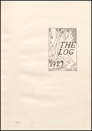 Page 7, 1925 Edition, Columbus North High School - Log Yearbook (Columbus, IN) online yearbook collection