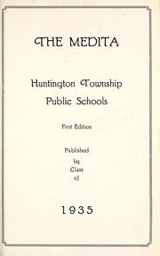 Page 5, 1935 Edition, Huntington Township School - Medita Yearbook (Huntington, IN) online yearbook collection