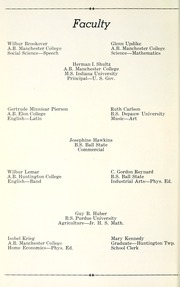 Page 8, 1935 Edition, Huntington Township School - Medita Yearbook (Huntington, IN) online yearbook collection