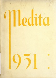 1951 Edition, Huntington Township School - Medita Yearbook (Huntington, IN)
