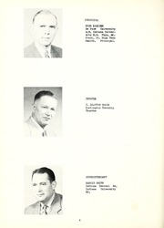 Page 8, 1951 Edition, Huntington Township School - Medita Yearbook (Huntington, IN) online yearbook collection