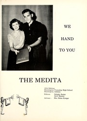 Page 5, 1954 Edition, Huntington Township School - Medita Yearbook (Huntington, IN) online yearbook collection