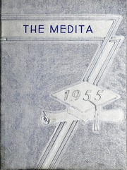 1955 Edition, Huntington Township School - Medita Yearbook (Huntington, IN)