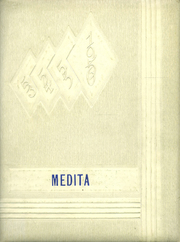 1956 Edition, Huntington Township School - Medita Yearbook (Huntington, IN)