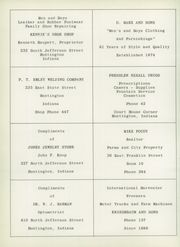 Page 74, 1956 Edition, Huntington Township School - Medita Yearbook (Huntington, IN) online yearbook collection