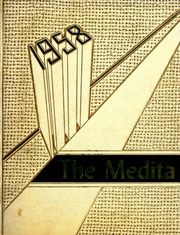 1958 Edition, Huntington Township School - Medita Yearbook (Huntington, IN)