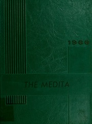 1966 Edition, Huntington Township School - Medita Yearbook (Huntington, IN)