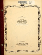 Page 3, 1948 Edition, Chester Center High School - Memento Yearbook (Keystone, IN) online yearbook collection
