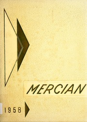Page 1, 1958 Edition, Mount Mercy Academy - Mercian Yearbook (Grand Rapids, MI) online yearbook collection