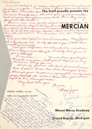 Page 5, 1958 Edition, Mount Mercy Academy - Mercian Yearbook (Grand Rapids, MI) online yearbook collection