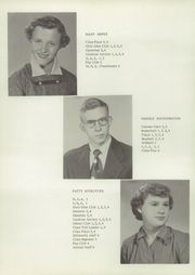 Page 16, 1954 Edition, Millersburg High School - Millerette Yearbook (Millersburg, IN) online yearbook collection