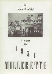 Page 7, 1954 Edition, Millersburg High School - Millerette Yearbook (Millersburg, IN) online yearbook collection