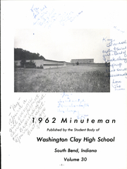 Page 5, 1962 Edition, Clay High School - Minuteman Yearbook (South Bend, IN) online yearbook collection