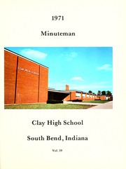 Page 5, 1971 Edition, Clay High School - Minuteman Yearbook (South Bend, IN) online yearbook collection