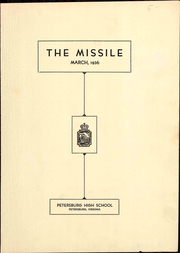 Page 3, 1936 Edition, Petersburg High School - Missile Yearbook (Petersburg, VA) online yearbook collection