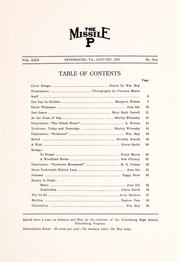 Page 11, 1941 Edition, Petersburg High School - Missile Yearbook (Petersburg, VA) online yearbook collection