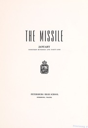Page 9, 1941 Edition, Petersburg High School - Missile Yearbook (Petersburg, VA) online yearbook collection