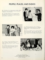 Page 12, 1965 Edition, Morley Stanwood High School - Mohawk Yearbook (Morley, MI) online yearbook collection