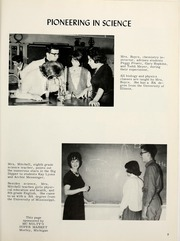 Page 13, 1965 Edition, Morley Stanwood High School - Mohawk Yearbook (Morley, MI) online yearbook collection