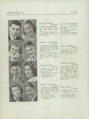 Page 14, 1939 Edition, Centerville Senior High School - Mortonian Yearbook (Centerville, IN) online yearbook collection