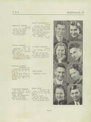 Page 15, 1939 Edition, Centerville Senior High School - Mortonian Yearbook (Centerville, IN) online yearbook collection