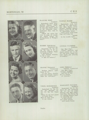 Page 16, 1939 Edition, Centerville Senior High School - Mortonian Yearbook (Centerville, IN) online yearbook collection
