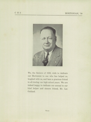 Page 7, 1939 Edition, Centerville Senior High School - Mortonian Yearbook (Centerville, IN) online yearbook collection