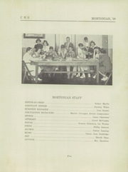 Page 9, 1939 Edition, Centerville Senior High School - Mortonian Yearbook (Centerville, IN) online yearbook collection