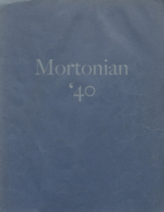 Page 1, 1940 Edition, Centerville Senior High School - Mortonian Yearbook (Centerville, IN) online yearbook collection