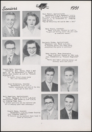 Page 15, 1951 Edition, Centerville Senior High School - Mortonian Yearbook (Centerville, IN) online yearbook collection