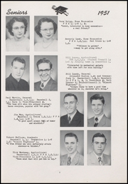 Page 17, 1951 Edition, Centerville Senior High School - Mortonian Yearbook (Centerville, IN) online yearbook collection