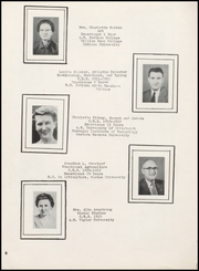 Page 10, 1952 Edition, Centerville Senior High School - Mortonian Yearbook (Centerville, IN) online yearbook collection